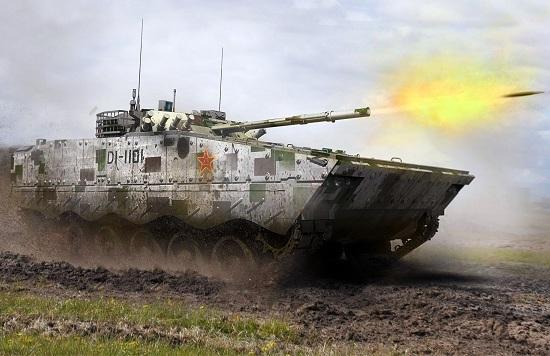 东西合璧的中国04A步兵战车